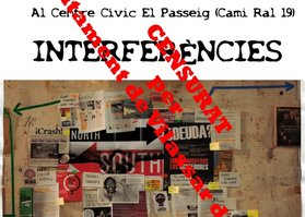 Interferències censurada a Vilassar de Mar